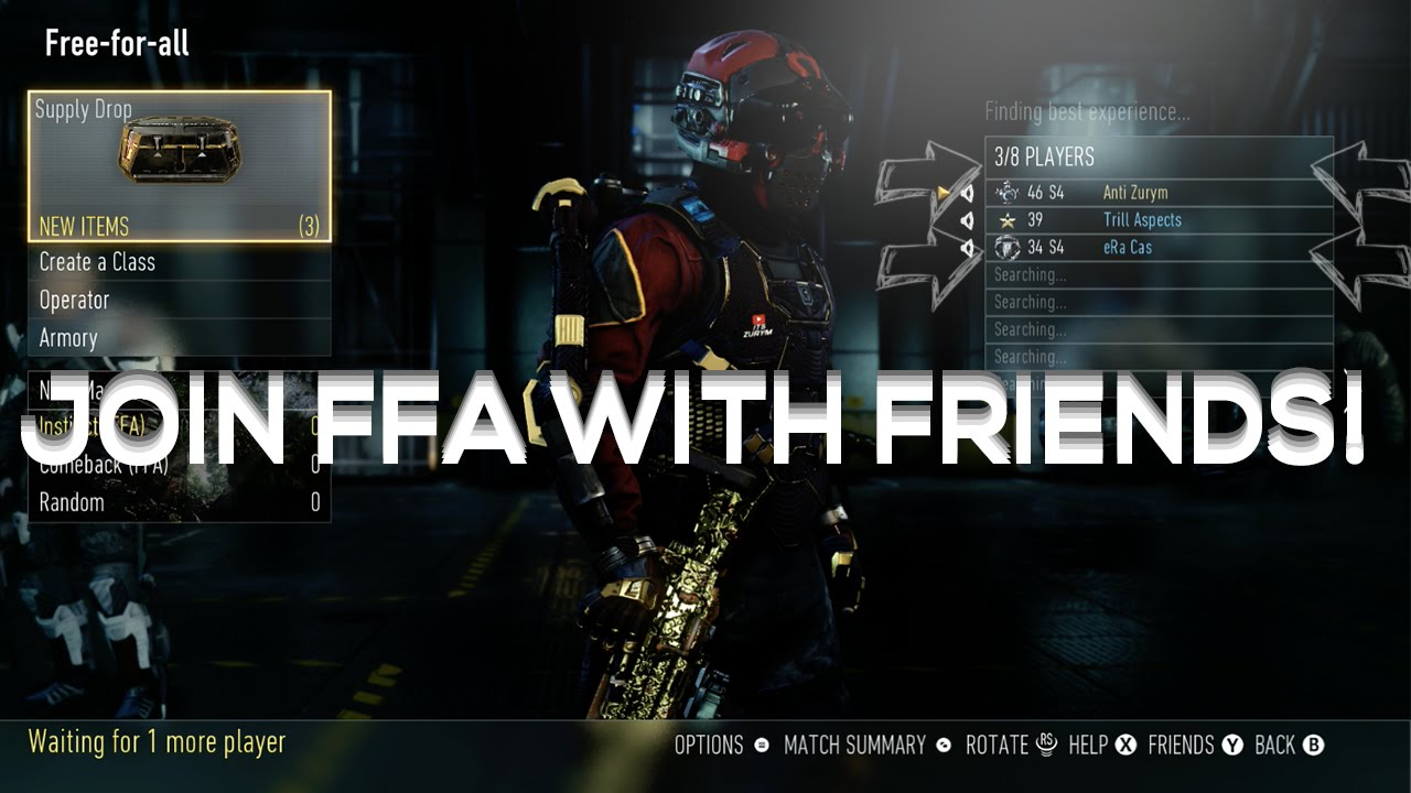 how to add friend on warface