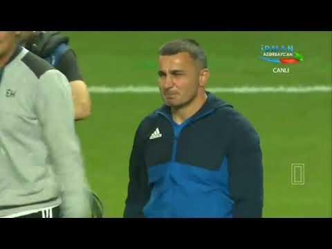 Qurban Qurbanov göz yaşları. Qarabağ kopenhagen. Champions league