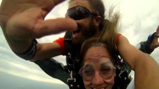 Dorothy Stager Skydive 8-8-15
