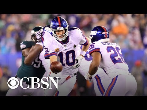 New York Giants crushed by Philadelphia Eagles