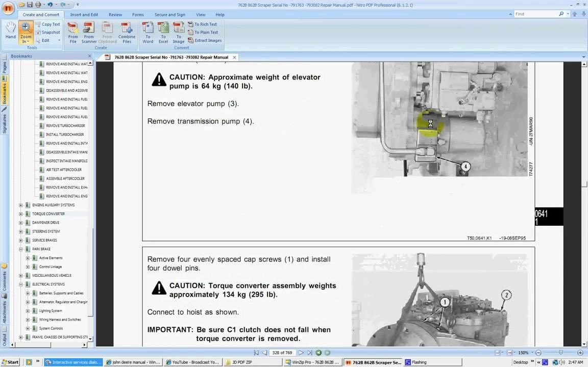 John Deere 762B Scraper Manual Free Download