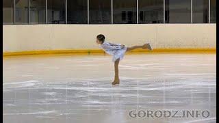 Зареченские фигуристки завоевали золото в открытом первенстве