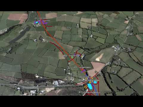 Fly Through of N25 New Ross Bypass PPP Scheme