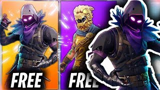 "Comment obtenir NOUVEAU ""Raven"" FORTNITE SKIN GRATUIT! (Fortnite Battle Royale Télécharger Tutorial)"