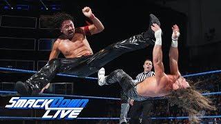 Shinsuke Nakamura vs. Dolph Ziggler: SmackDown LIVE, June 20, 2017