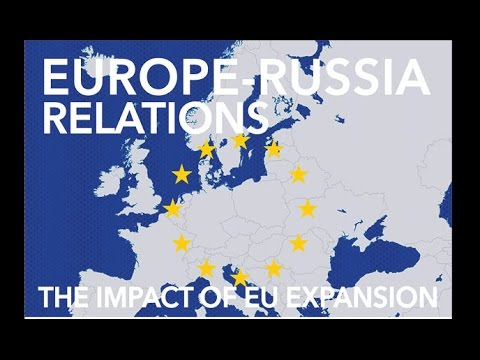 """Sept 30, 2014: """"Europe-Russia Relations: The Impact of EU Expansion"""""""