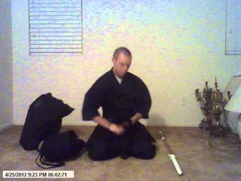 Skattosan Equipping His First Set of Bogu