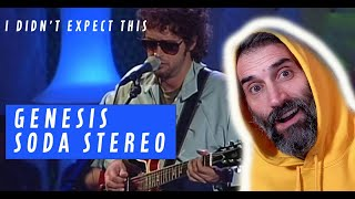 Genesis MTV - Soda Stereo - singer reaction and review