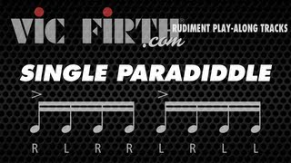 Single Paradiddle: Vic Firth Rudiment Playalong