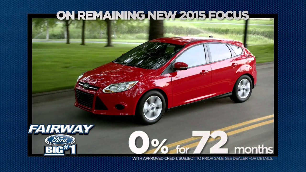 Save BIG on New 2015 Ford Fusion & Focus