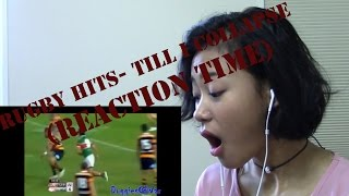 Rugby hits- Till I Collapse (REACTION TIME)