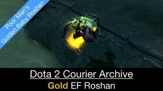 Dota 2 Courier: Unusual Baby Roshan (Ethereal Flame - 207 171 49 Gold)