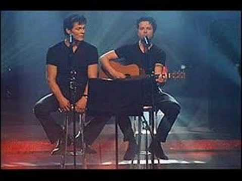 Espen Lind and Morten Harket