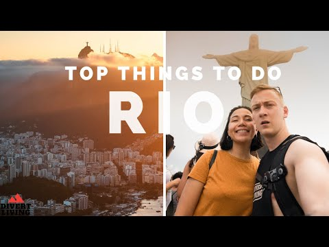 🇧🇷A DAY In RIO DE JANEIRO As Tourist - BEST Things To Do In Rio, Brazil