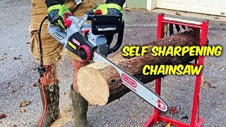 Don't Sharpen Your Chainsaw Ever Again!