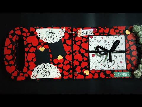 Valentine's Day Diy | XOXO Album Tutorial part 1 | Deep Panesar