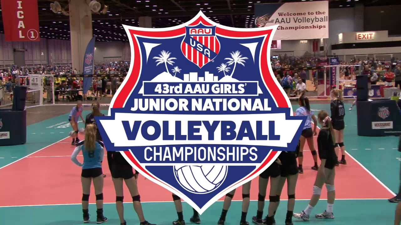 Aau Volleyball Nationals Court 41 Youtube