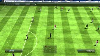 FIFA 13 gameplay pc Arsenal vs Chelsea online commentary HD max settings