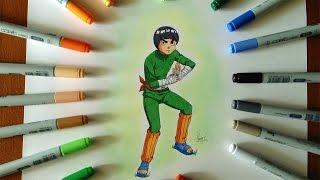 Disegno - Drawing Rock Lee (Naruto)