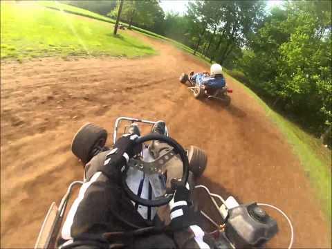 Backyard Dirt Go Karting 2013