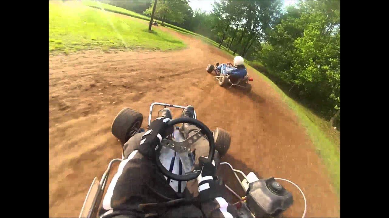 Backyard Dirt Go Karting