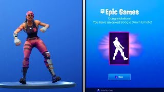 FORTNITE REGALA 1 BAILE À TOUS! COMMENT GET BAILE BOOGIE DOWN FOR FREE IN FORTNITE!