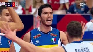 FINALE EUROPEO di PALLAVOLO maschile   Italia - Slovenia
