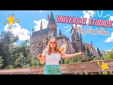 Universal Studios Vlog 1: Wizarding World Of Harry Potter