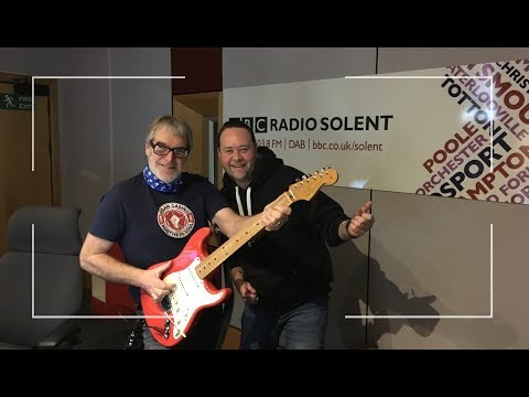 Phil Walker @ BBC Radio Solent with Alex Dyke