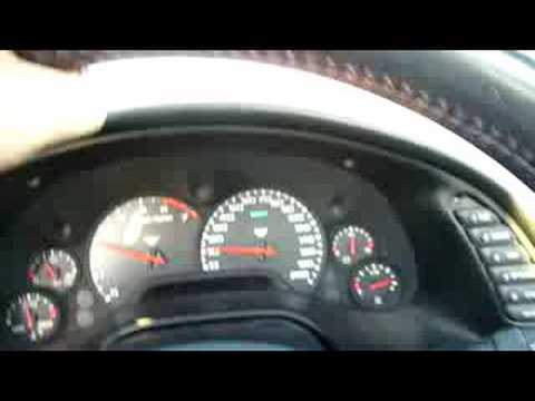 C5 1998 corvette - 150mph ez run.