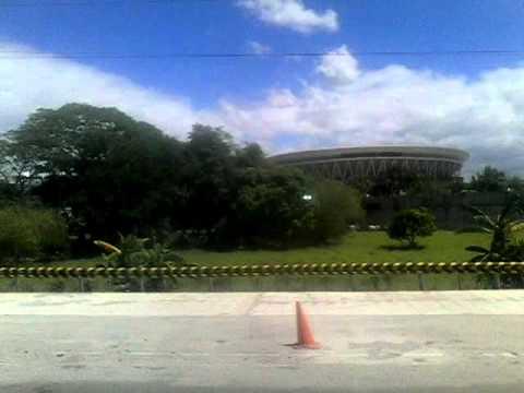 The PHILIPPINE ARENA and The PHILIPPINE SPORTS  STADIUM