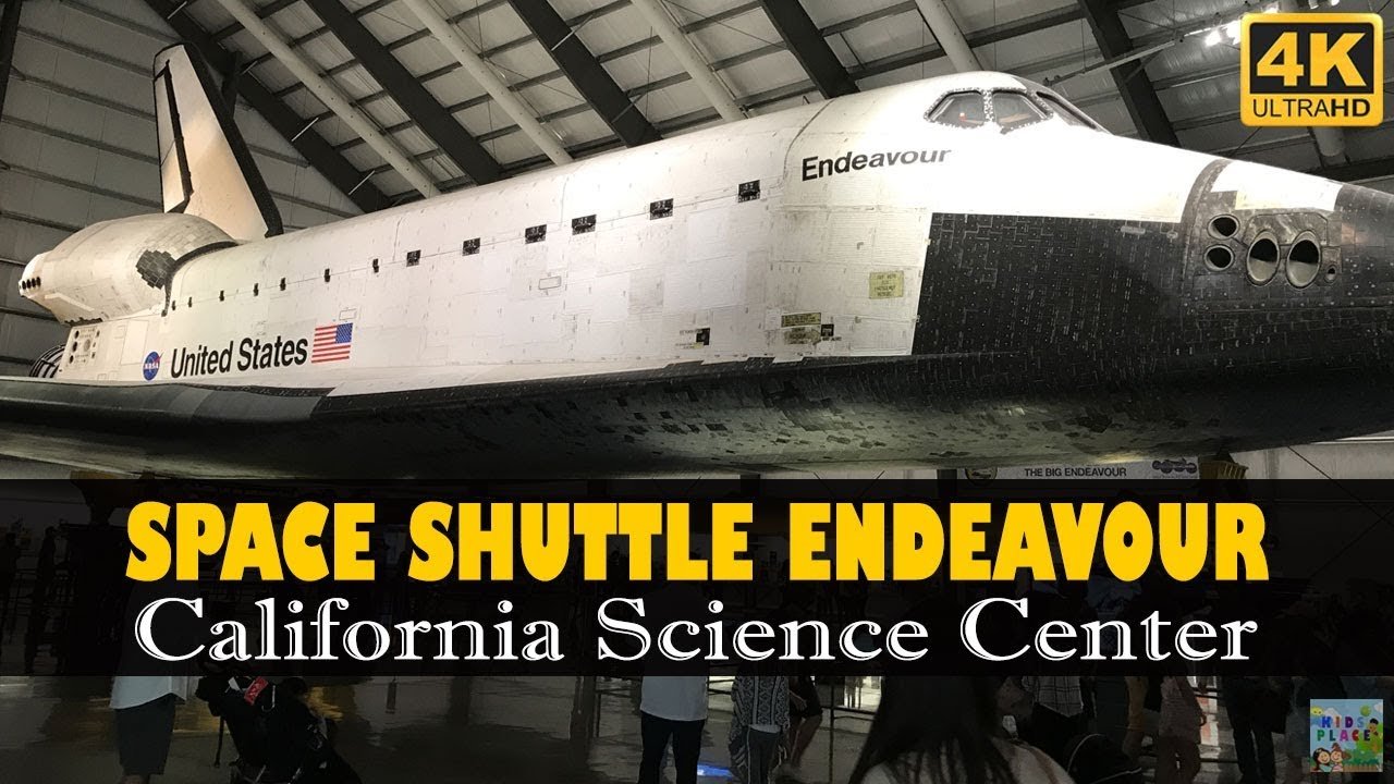 Space shuttle endeavour at california science center 4k - 4k space shuttle ...