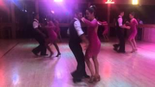 Salsa Dance performance Borderline oct 27 2014