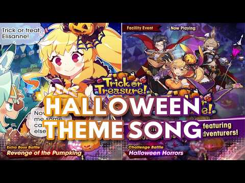 Dragalia Lost | Halloween Event | Theme Song | Trick Or Treasure