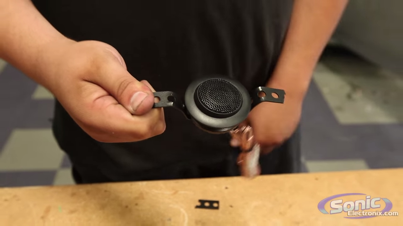 medium resolution of how to install car tweeters in an oversized speaker location installation tips