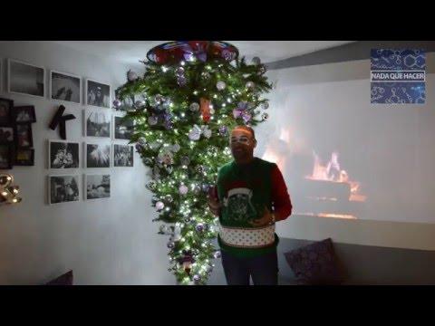 Árbol Navidad Nada que Hacer no ensuciar al taladrar techo| NQUEH