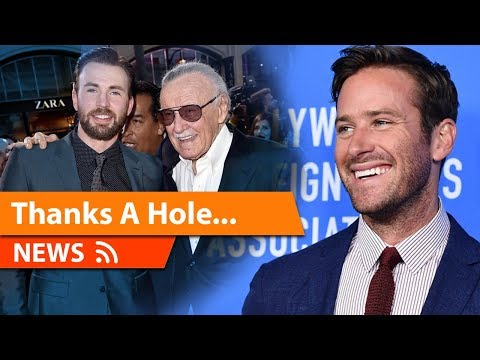 Armie Hammer Insults people over Stan Lee Death mourning...