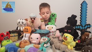 Эндер Драконище и 26 Мягких Мобов из Китая - Коллекция Плюшевых игрушек Майнкрафт у Мастер Славика