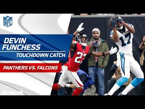 Cam Newton's TD Pass to Devin Funchess Caps Off Big Drive! | Panthers vs. Falcons | NFL Wk 17