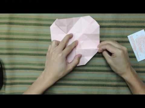 摺紙玫瑰花教學 - YouTube