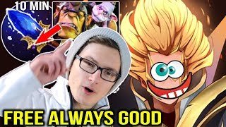 Miracle Invoker with 10 Minutes Free Scepter by Alchemist Dota 2 7.11