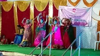 Girls Banjara song permanence, Telangana Minority Hostel, Nzb.