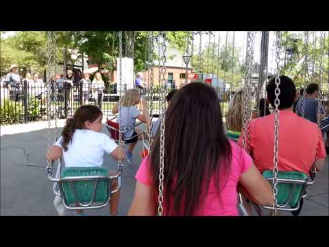 Cedar Point: Waveswinger / On Ride POV / July 15, 2015