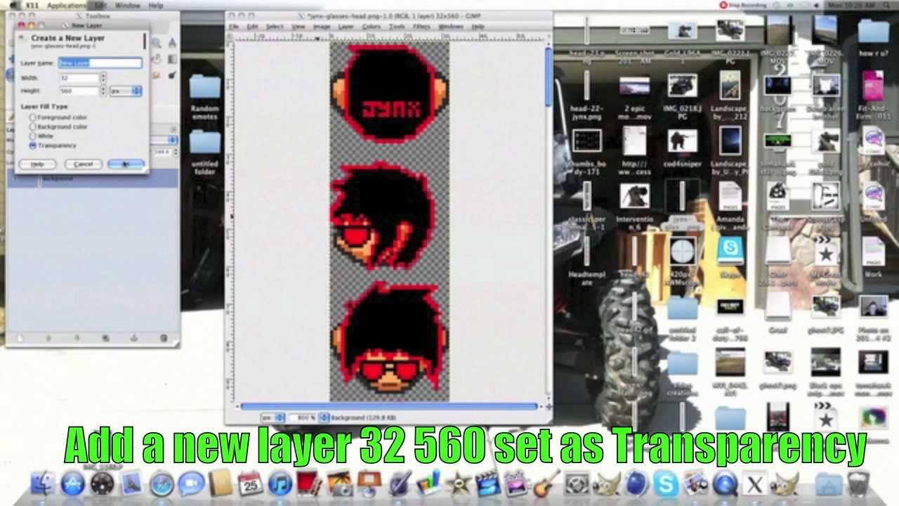 How to make a graal head off of somones templategimp youtube maxwellsz