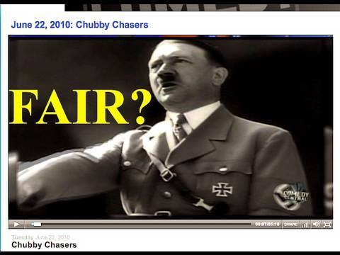 Daily Show Edit of Nazi Obama Reference from Competitive Enterprise Institute Fair?