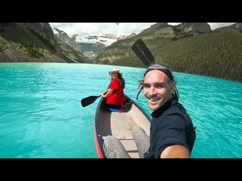 YOU HAVE TO COME HERE! (Lake Louise, Alberta)