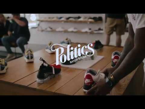nike air max giorno alle scarpe da ginnastica politica baton rouge 2018 su youtube