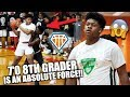 7-FOOT 8TH GRADER Jahzare Jackson is an ABSOLUTE FORCE!! | Magic City Showcase Highlights