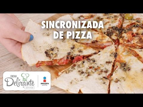 Sincronizada de pizza | Cocina Delirante