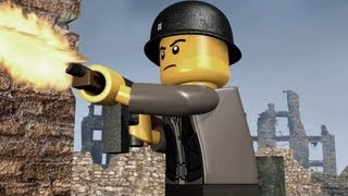 Lego Soldiers and Battle Scene Test